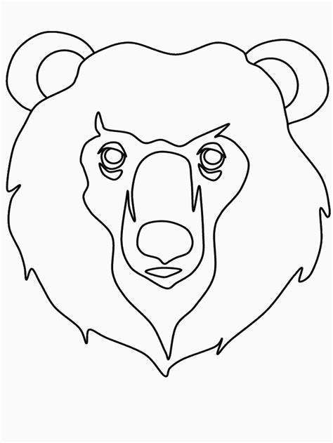 free coloring pages of animal faces