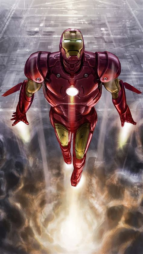 iron man vertical fly iphone wallpaper iphone wallpapers