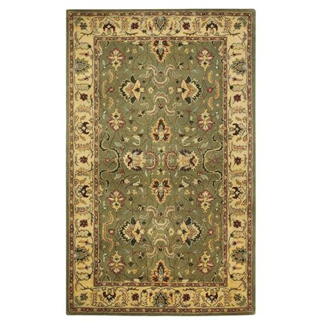rugs home decorators home decorators collection rochelle green 6 ft x 9 ft