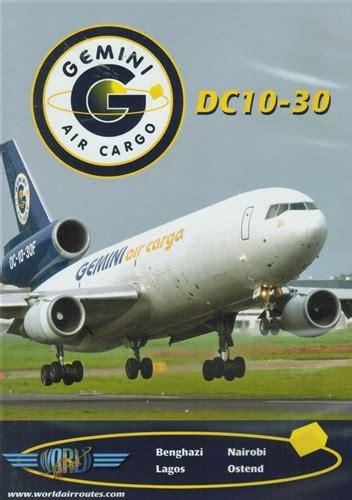 gemini air cargo dc10 30 trijet dvd