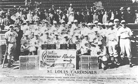 gas house gang brett s 1934 st louis cardinals gas house gang diamond mind baseball season replay