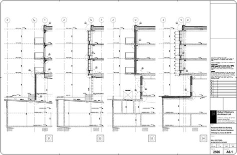 service section working drawings consulting services 171 lowell lo design