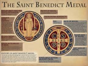 The saint benedict medal explained the catholic company