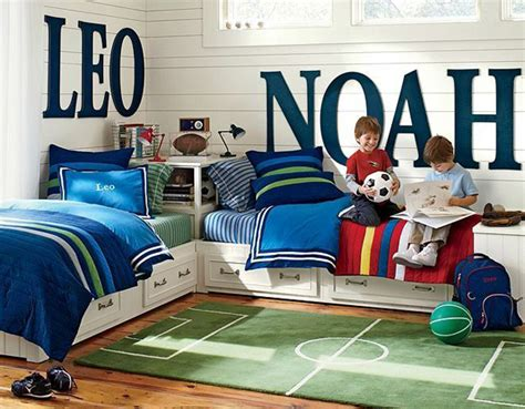soccer bedroom 15 awesome kids soccer bedrooms home design and interior