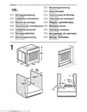 Bosch Dishwasher Installation Guide Bosch Hba63b261b Manuals