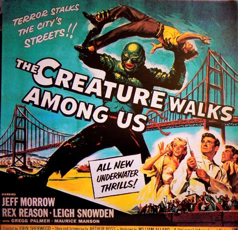 where monsters walked california locations of science fiction and horror 1925 1965 books sci fi posters lyonsmouth