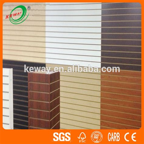 buy mdf panel price low low price slotted mdf board slatwall panel slatwall board