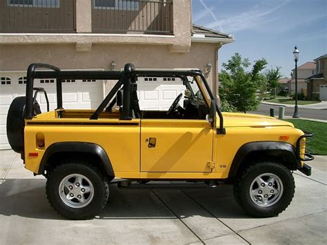 land rover defender 90 yellow yellow land rover defender 90 aka freddie prinze jr s