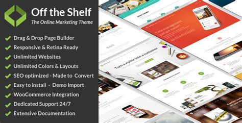 The Shelf Item by The Shelf Marketing Theme By