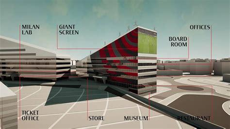 nuova sede milan la sala dei trofei un museo un ristorante ecco la nuova