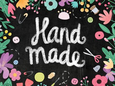 The Handcrafter - handmade by alekseeva dribbble