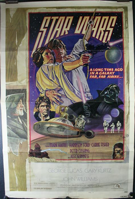 hairstyle posters for sale star wars episode iv original drew struzan art style d