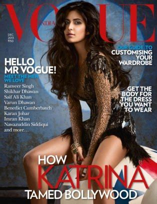 Vogue Indias Issue by Vogue India Magazine December 2013 Issue Get Your