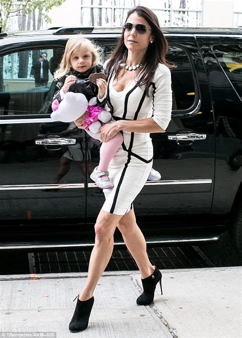 high heels for school bethenny frankel turns heads in skintight bandage dress