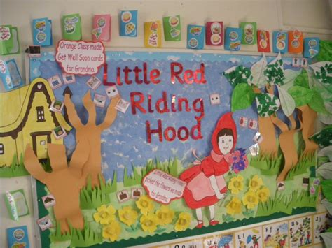 new year early years story display classroom display wolf story