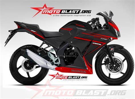Footstepunderbone Dbs Untuk Cbr 150 K45 Cbr 250 Antipatah modif striping honda cbr150r k45 black carbon motoblast