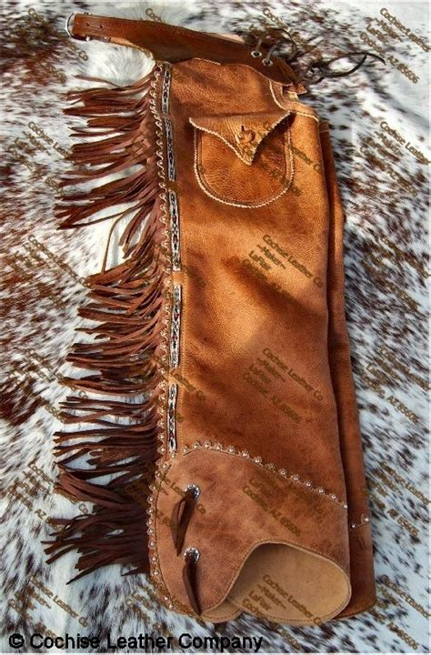 Handmade Cowboy Chaps - object moved