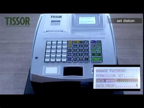 Mesin Kasir Tissor unboxing mesin kasir register tissor t5000 dan