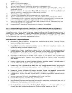 resume of naveed shahzad professional cv in finance