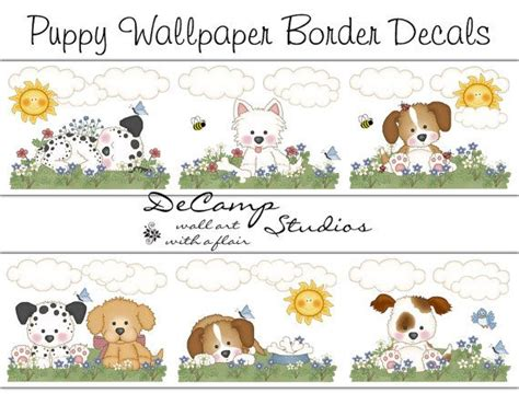 cute wallpaper border i like for kitchen cool ideas download free puppy dog wallpaper border the quotes land