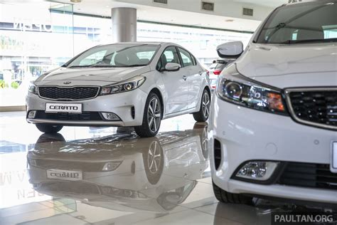 Kia Cerato Facelift Kia Cerato Facelift Prices Maintained From Rm91 888