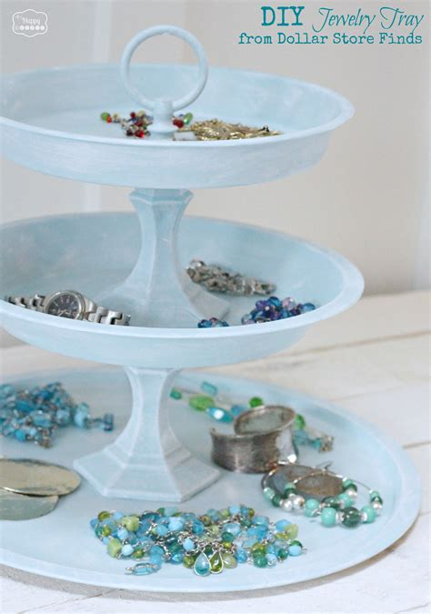 diy tray diy tiered jewelry tray from dollar store finds the happy housie