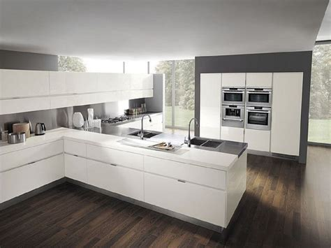 white kitchen ideas modern cuisine bousiges cr 233 ations