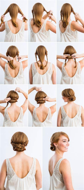 women hair styles for convertables 10 magnifiques tutoriels de coiffures de mariage tendance