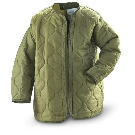 S Eliner Jaket 3 new u s parka liners olive drab 170851 insulated jackets coats at sportsman s