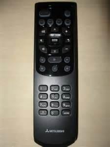 How To Program A Mitsubishi Tv Mitsubishi 290p175010 Remote By Mitsubishi 36 95