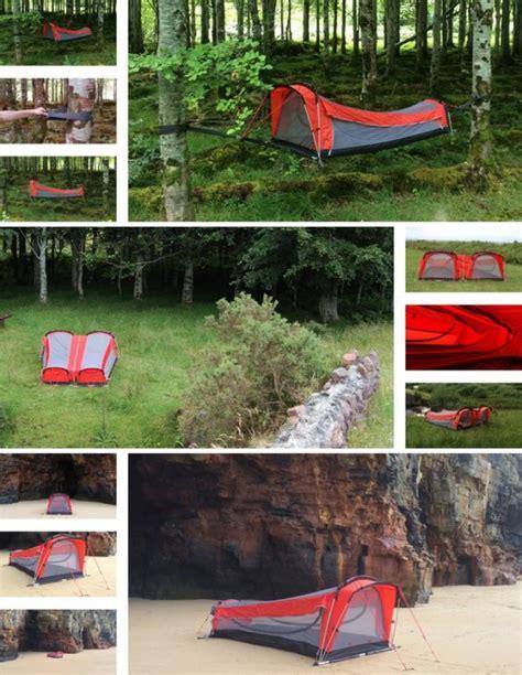 whoa a tent hammock sleeping bag mattress combo