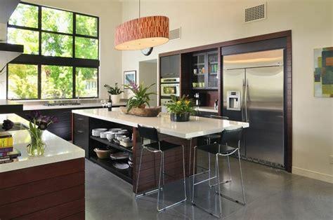 d馗o de cuisine cuisines design avec 238 lot central en 51 id 233 es