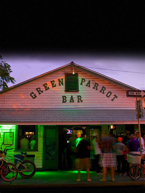 top bars in key west key west bars green parrot voted best bar in key west