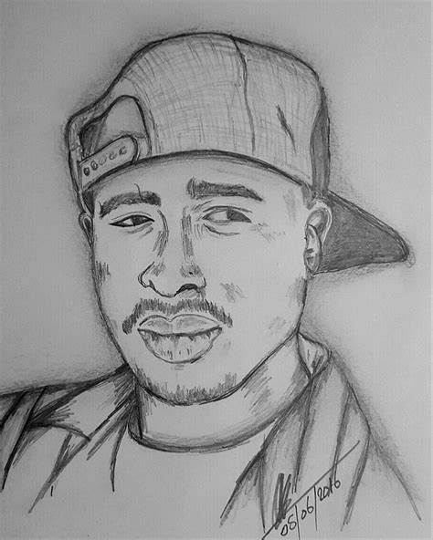 2pac Sketches by 2pac Pencil Drawing Www Pixshark Images Galleries