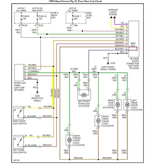 wrx alarm wiring diagram wrx home wiring diagrams