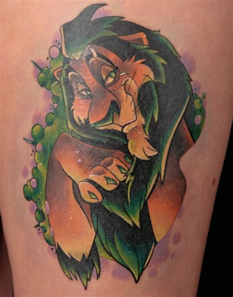 scar tattoo designs adorable scar king disney disney inspired