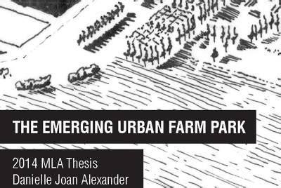 thesis farm the emerging farm park danielle joan work