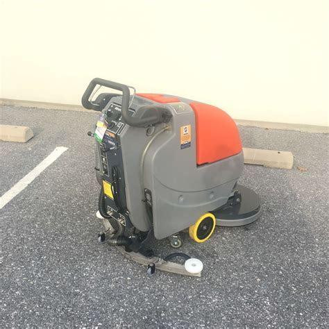 Floor Ls Battery Operated by Powerboss 20 Sweeper Scrubber Bortek Industries 174