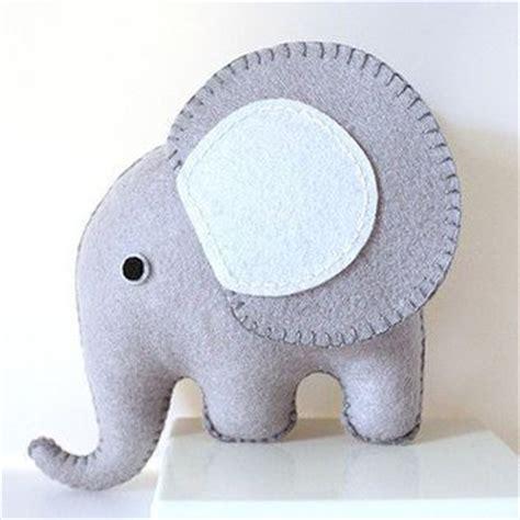 etsy elephant pattern grey felt elephant pdf pattern by from loopzart on etsy my