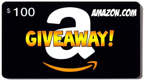 Who Has Amazon Gift Cards - amazon 100 gift card giveaway amazon com youtube