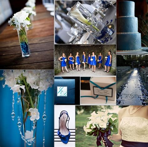 Blue And White Wedding Decorations by Adrena S But With A Wedding Dress To Fit Into In