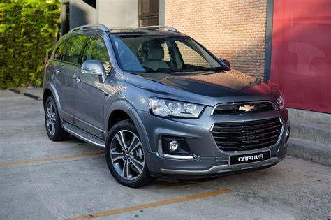 2016 Chevrolet Captiva Updates Middle East Gm Authority