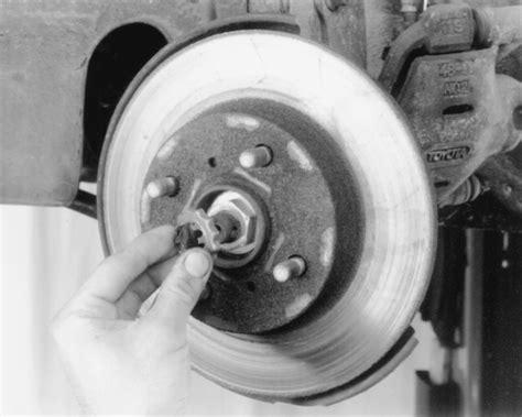 how to remove axle nut cover 1994 hyundai sonata repair guides manual transaxle halfshafts autozone com