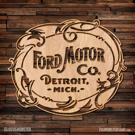 Nfl Wall Stickers vintage ford motor company wood sign zug monster signs