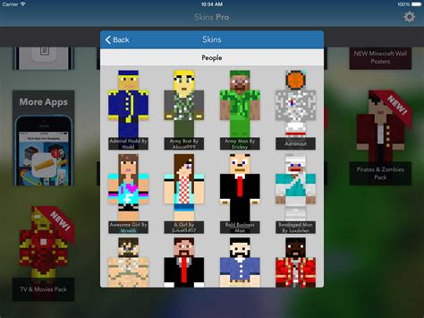 full version of minecraft for ipad app shopper skins pro for minecraft unofficial utilities