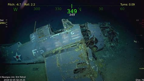 Allen In Ladiscovered Downloaded by Uss Aircraft Carrier Sunk In Wwii Found