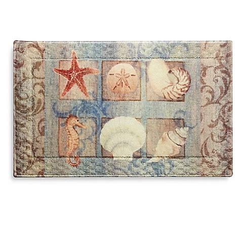 seashell rugs bathroom shell bath rug bed bath beyond