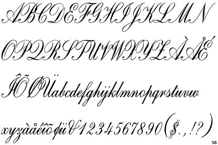 tattoo font exles exles of copperplate alphabet copperplate script