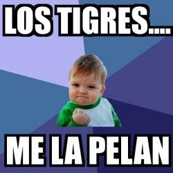 Me La Pelan Meme - meme bebe exitoso los tigres me la pelan 73829