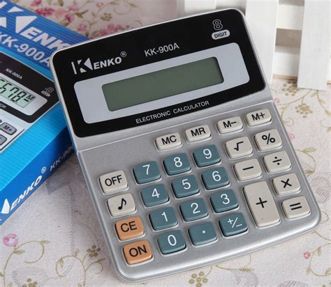 Kenko Kalkulator Elektronik Office Calculator Kk 900a kenko kalkulator elektronik office calculator kk 900a black silver jakartanotebook